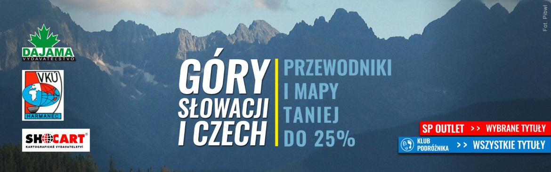 Przewodniki po górach Czech i Słowacji taniej do 25%