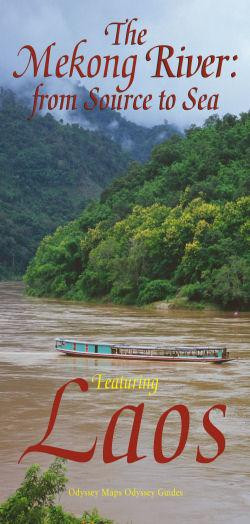 The Mekong River - from source to sea - Mapa
