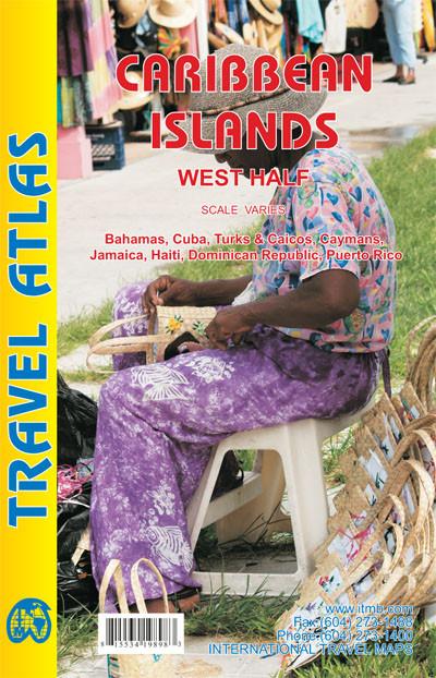 Caribbean Islands west half
