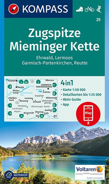 K 25 Zugspitze, Mieminger Kette