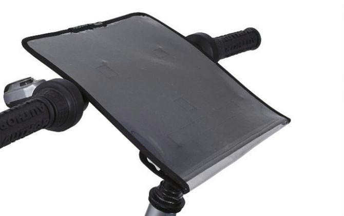 Mapnik rowerowy LRC 430 26x23cm k:czarny