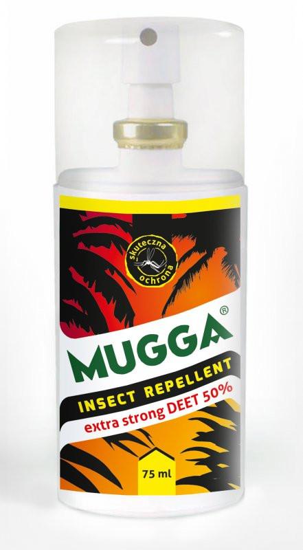 Środek przeciw owadom Mugga Strong 50% atomizer 75ml