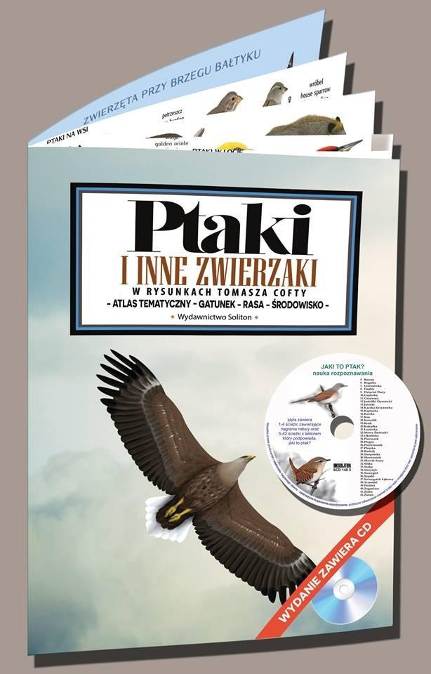 Ptaki i inne zwierzaki w rysunkach Tomasza Cofty (+CD)