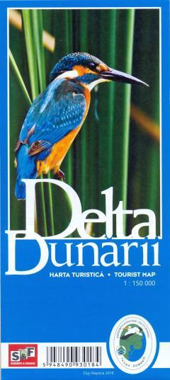 Delta Dunarii harta turistica/tourist map