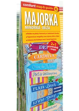 Majorka, Minorka, Ibiza 2 w 1 (mapa+przewodnik)
