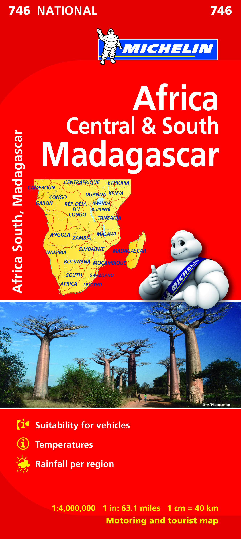 Africa Central & South, Madagascar (M 746)