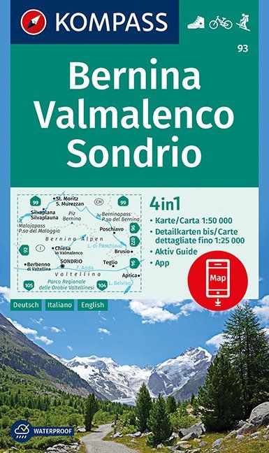 K 93 Bernina, Valmalenco, Sondrio