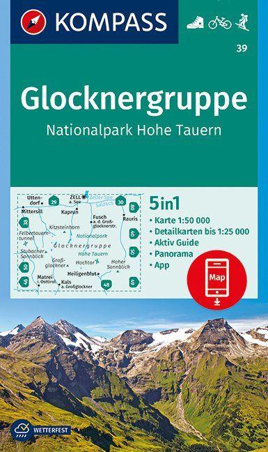 K 39 Glocknergruppe-NP Hohe Tauern
