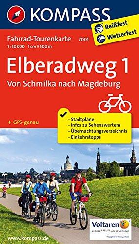 K 7001 Elberadweg 1 Von Schmilka Nach Magdeburg Mapa Skladana