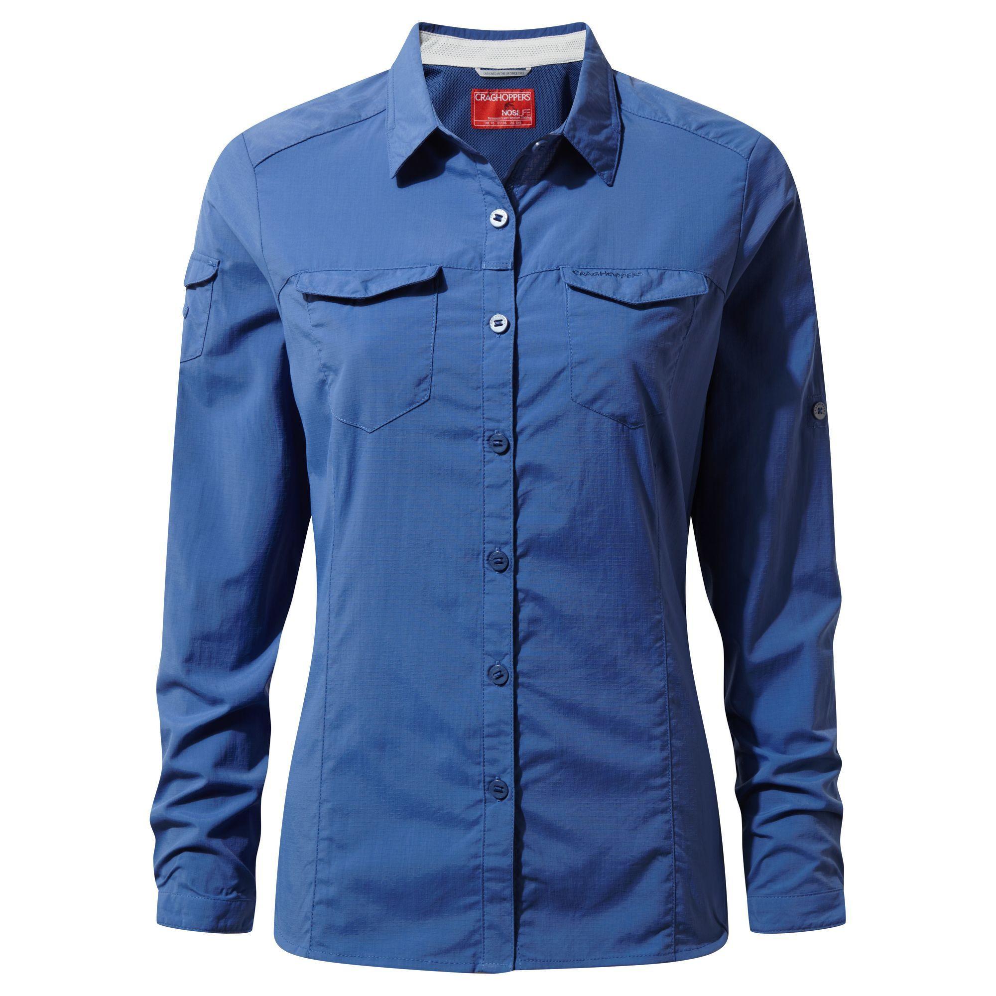 Koszula NosiLife Adventure Long Sleeved Shirt W's soft denim