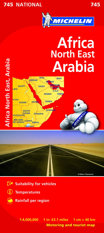 Africa North East, Arabia (M 745)