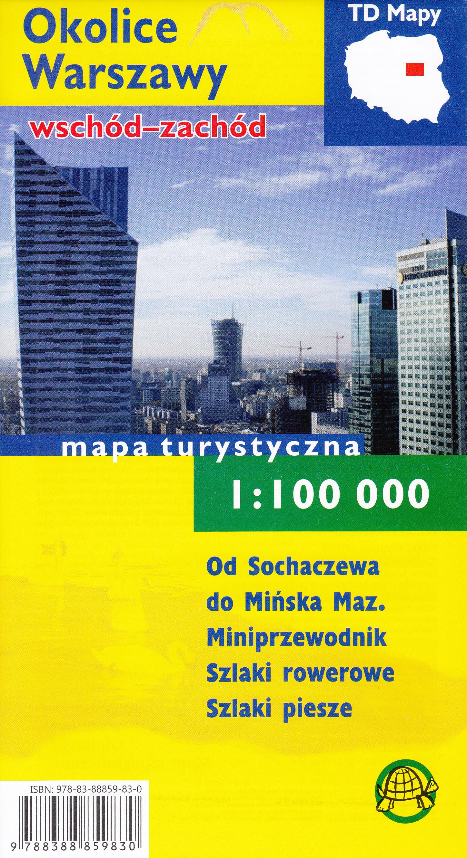 Okolice Warszawy wschód-zachód