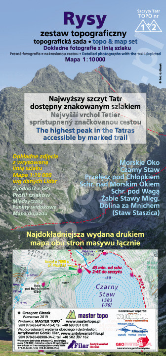 Rysy zestaw topograficzny (rolka)