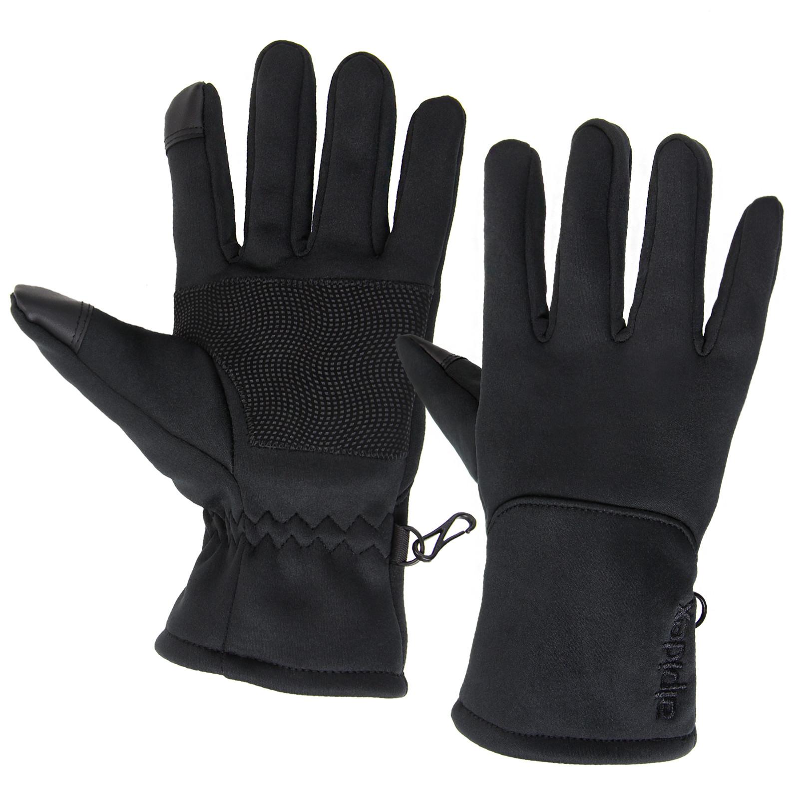 Rękawiczki stretch Alpidex czarny