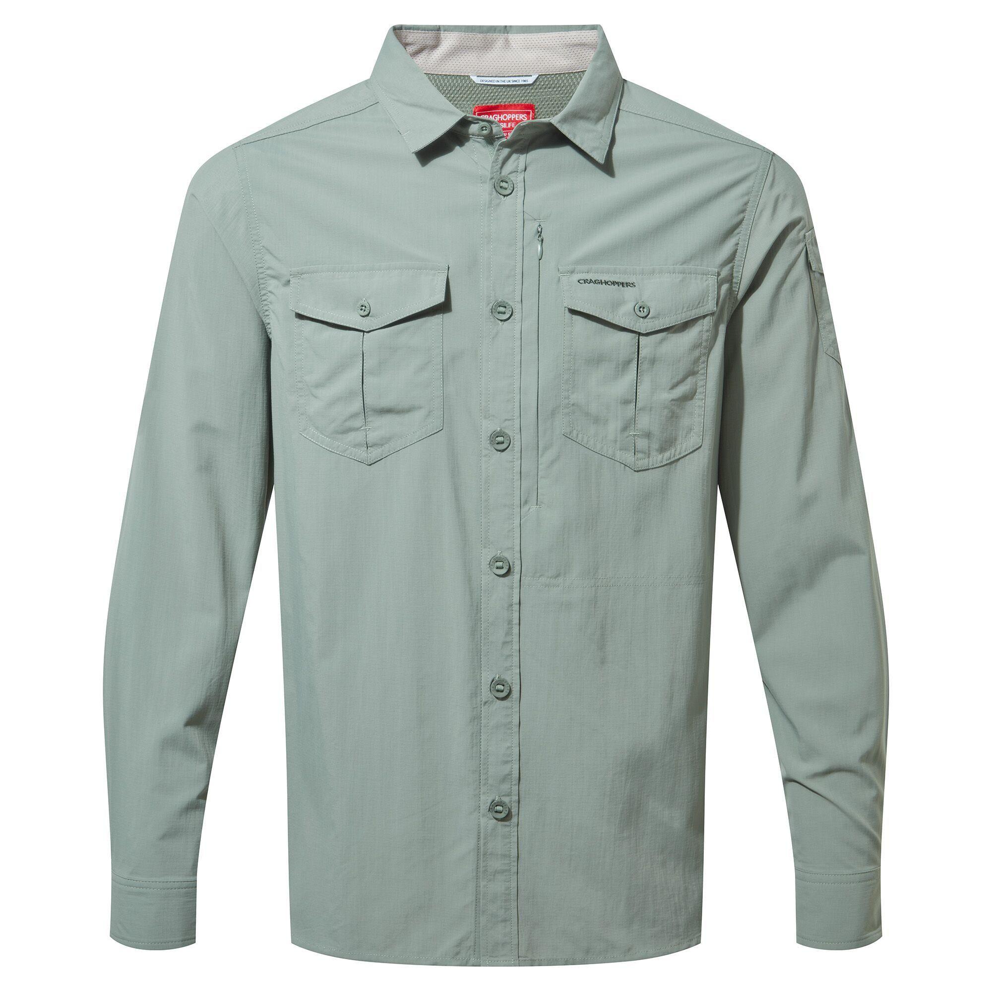 Koszula NosiLife Adventure II Long Sleeved Shirt sage