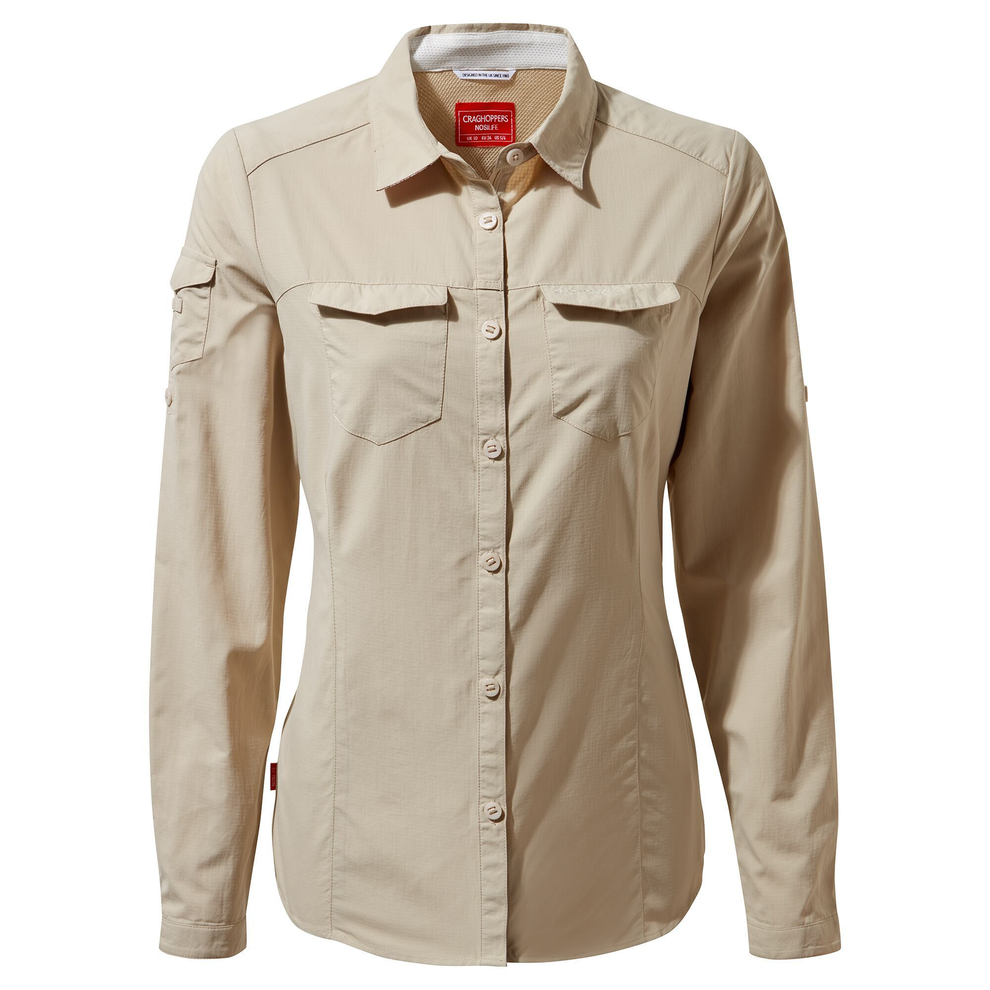 Koszula NosiLife Adventure II Long Sleeved Shirt W's desert sand