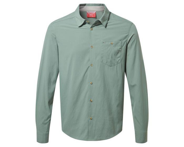 Koszula NosiLife Hedley LS Shirt sage