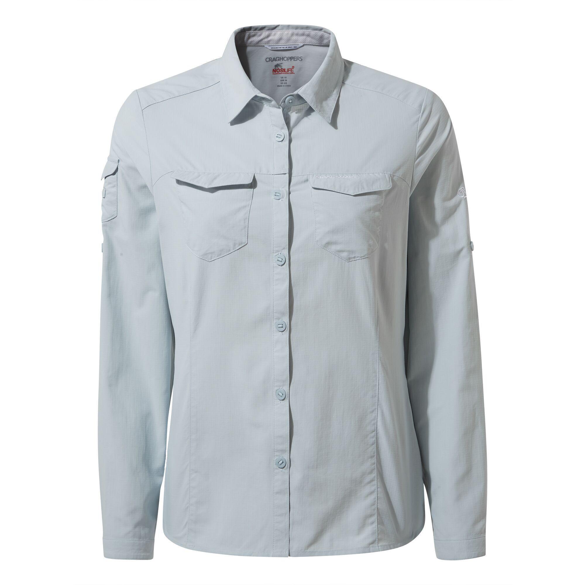 Koszula NosiLife Adventure Long Sleeved Shirt W's mineral blue