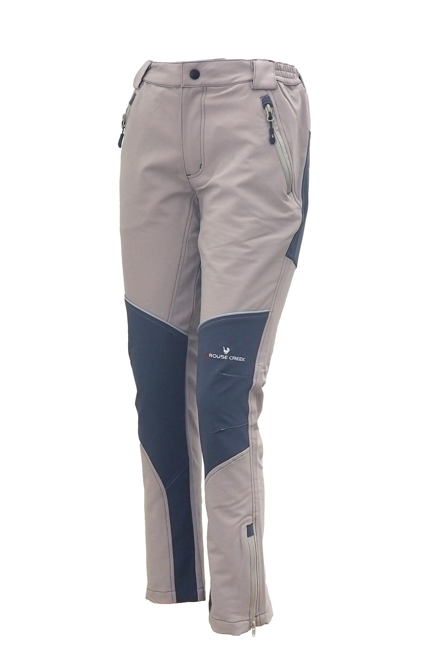 Spodnie Grizzly beige/dark grey