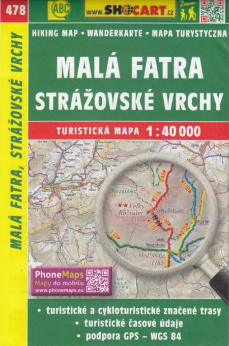 CT40 478 Mala Fatra, Strazovske Vrchy