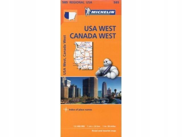 M 585 Western USA, Western Canada