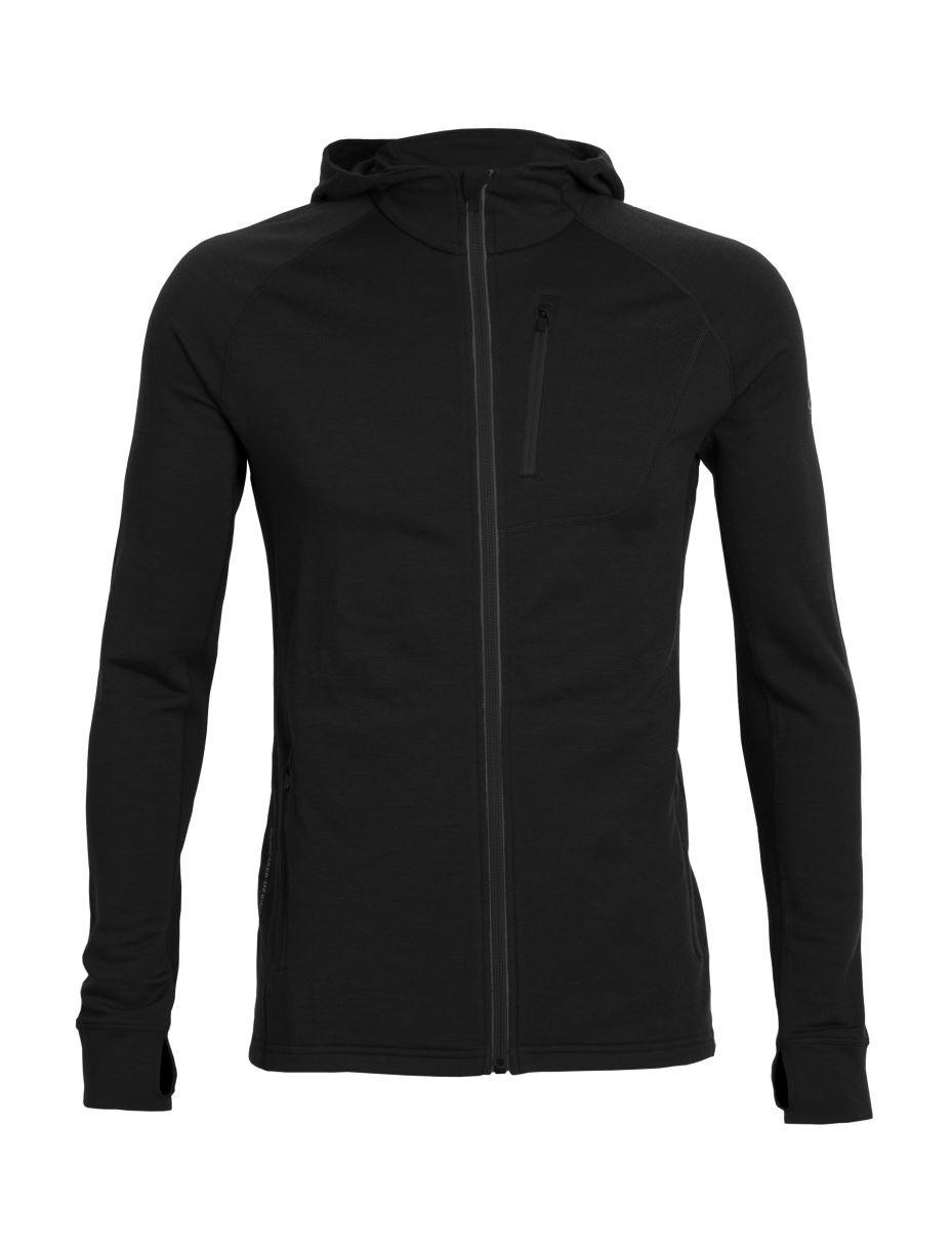 Bluza Quantum LS Zip Hood black