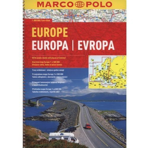Europa atlas drogowy