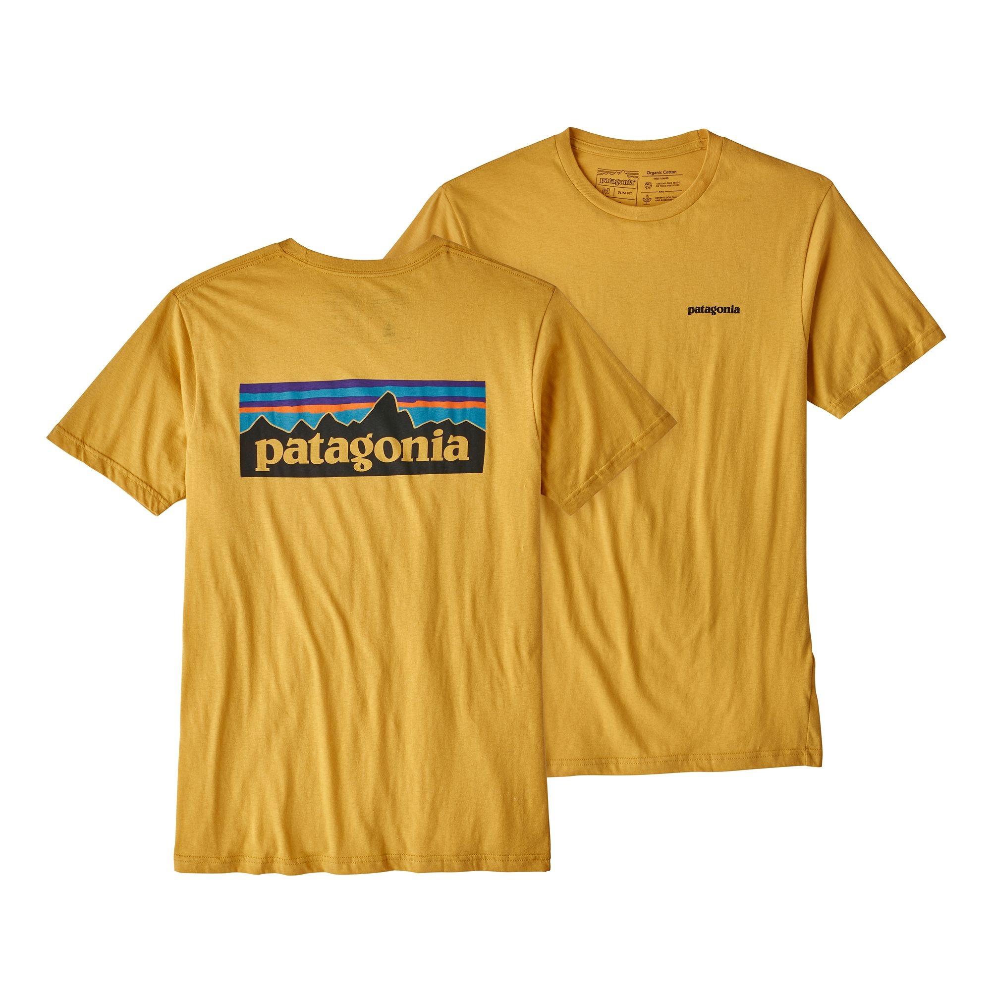 Koszulka Logo Organic T-shirt yurt yellow