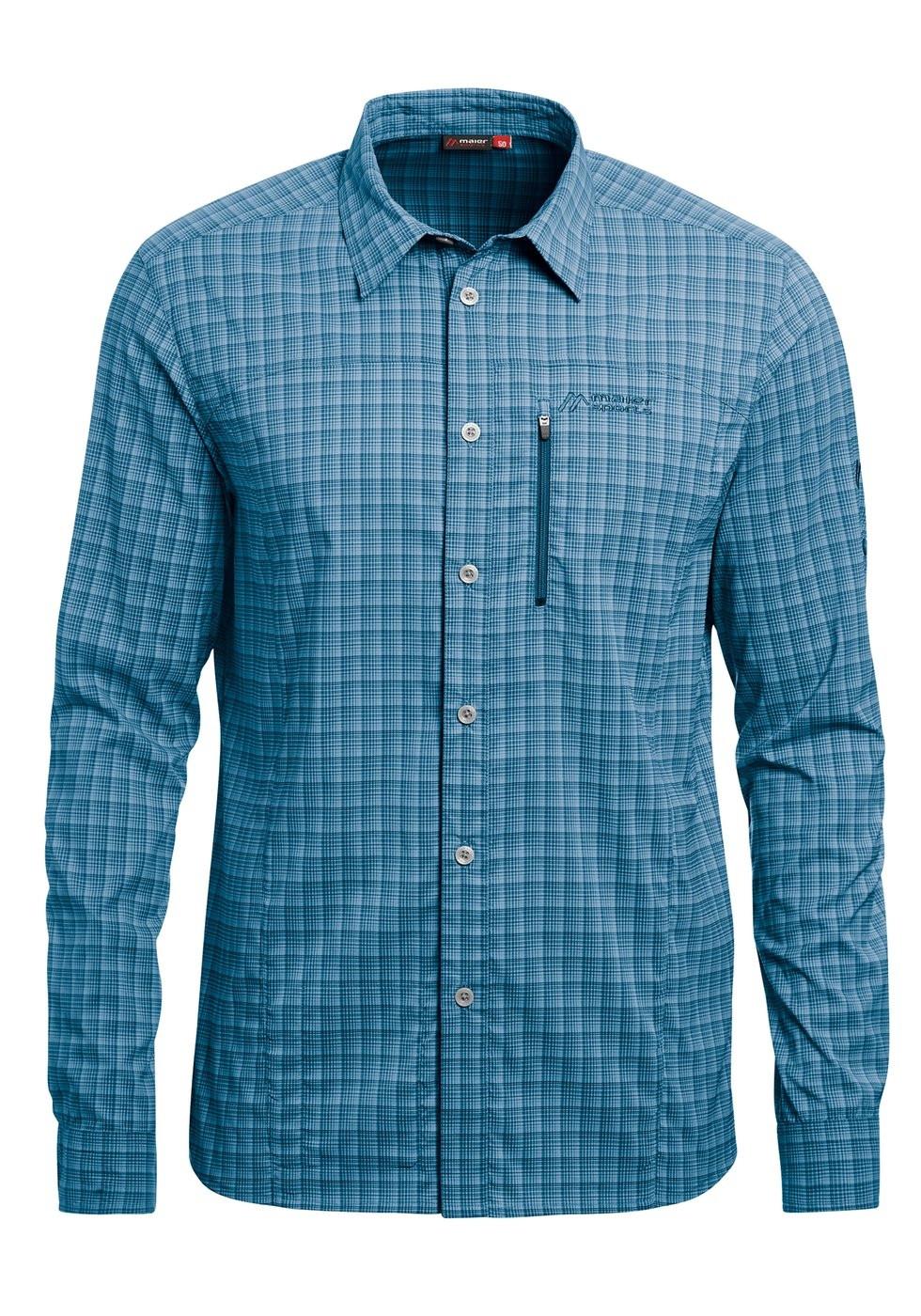 Koszula Madoc LS blue check
