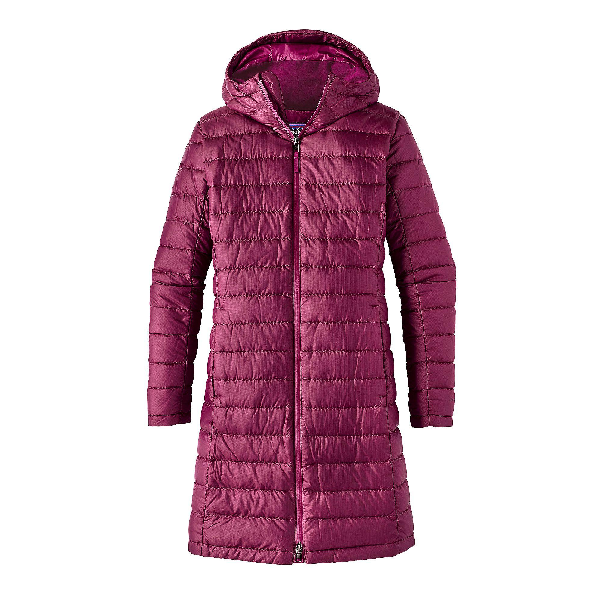 Płaszcz puchowy Hooded Fiona Parka W's magenta