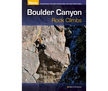 Boulder Canyon. Rock climbs