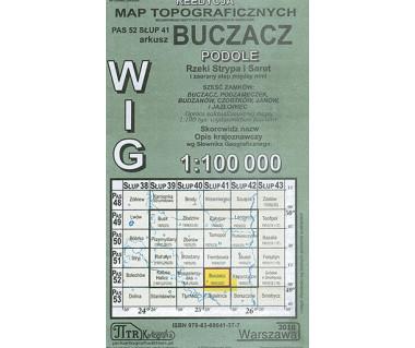 WIG Buczacz - Mapa