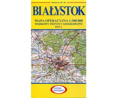 Białystok mapa operacyjna ark. 46 reedycja WIG 1933r.