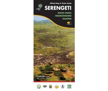 Serengeti, Masai Mara, Ngorongoro, Oldupai - Mapa