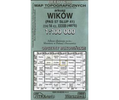 WIG Wików (Obczyny Bukowińskie) - Mapa