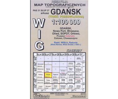 WIG 31/27 Gdańsk (plansza) reedycja z 1938 r.