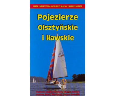 Pojezierze Olsztyńskie i Iławskie - Mapa