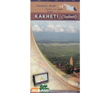 Georgia travel map (1) Kakheti (Tusheti)