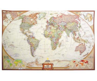Świat mapa polityczna NG 114x74cm