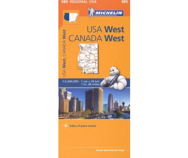M 585 USA West, Canada West