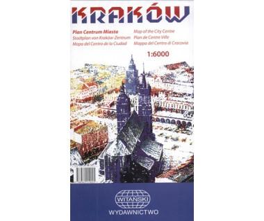 Kraków plan centrum