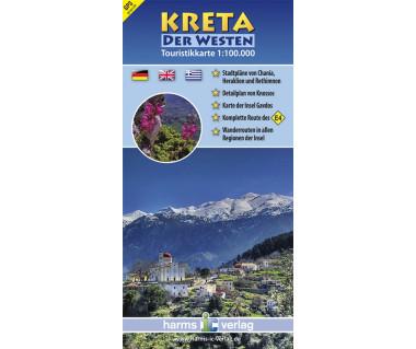 Kreta Western - Mapa