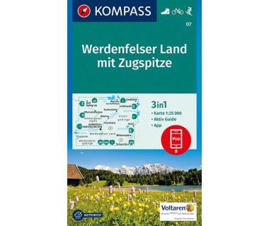 K 07 Werdenfelser Land mit Zugspitze