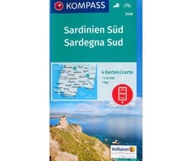 K 2499 Sardegna Sud (4 mapy kpl.)