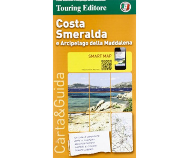 Costa Smeralda - Mapa wodoodporna
