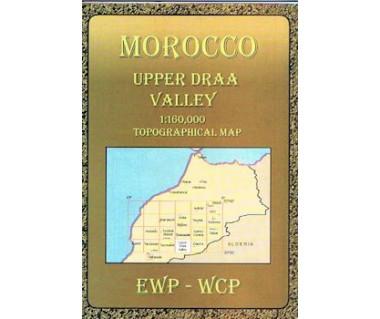 Morocco Upper Draa Valley - Mapa