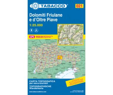 TAB021 Dolomiti Friulane e d'Oltre Piave