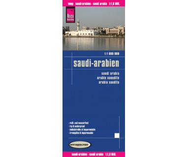 Saudi Arabia - Mapa wodoodporna