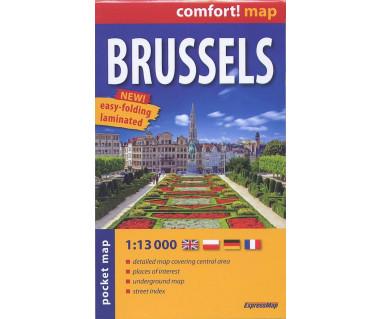 Brussels plan laminowany kieszonkowy