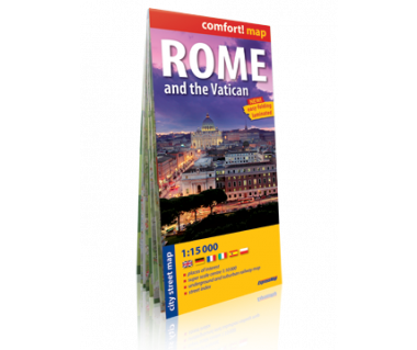 Rome & the Vatican plan laminowany